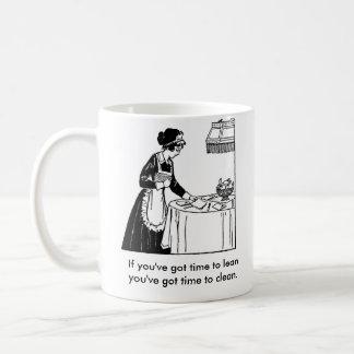 Maid on a mug