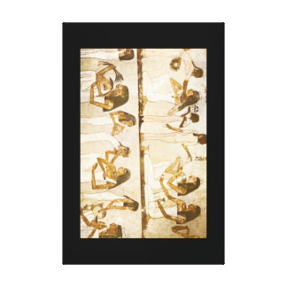 Maid Servants Attending to_Art of Antiquity Canvas Print
