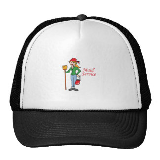 Maid Service Trucker Hats