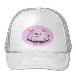 Maid to Serve Trucker Hats