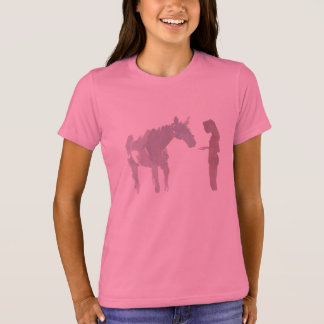 Maiden and a Horse (Girl's) T-Shirt