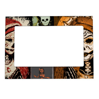 Maiden Hell Inc Day of the Dead Frame Magnet