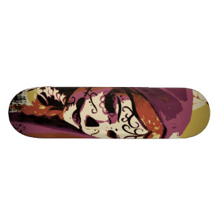 Maiden Hell Inc Day of the Dead Skate Board Deck