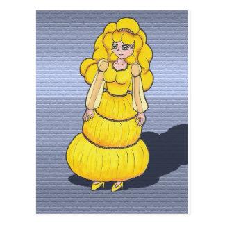 Maiden Malanyahaya, Anime Art Gallery Character Postcard