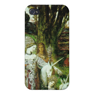 Maidens and Unicorns Cover For iPhone 4