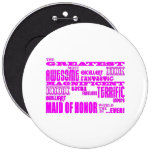 Maids of Honour Fun Gifts : Greatest Maid of Button