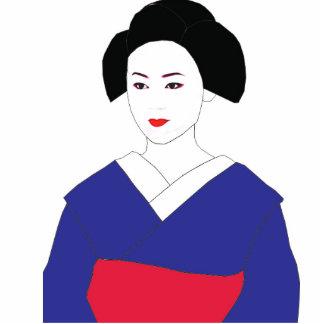 Maiko/Geisha photo sculputure Standing Photo Sculpture