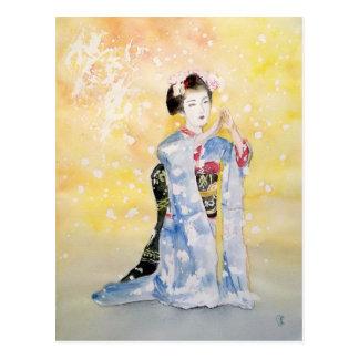 Maiko Girl -2 Postcard