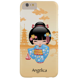 Maiko Kokeshi Doll - Cute Japanese Geisha Girl Barely There iPhone 6 Plus Case