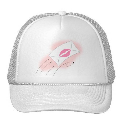 mail-30233  mail envelope cartoon lips letter kiss hat