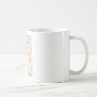 Mail Art Design Coffee Mugs