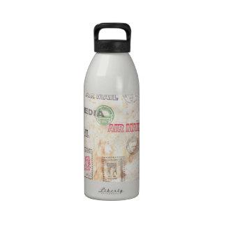 Mail Art Design Water Bottle