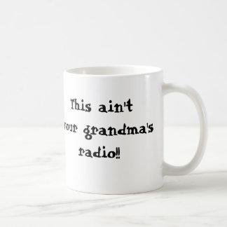 mail, BABES FOR ROCK, This ain'tyour grandma's ... Basic White Mug