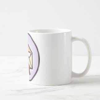 mail basic white mug