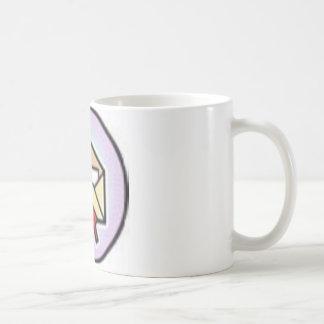 mail basic white mug