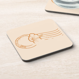 Mail before Summer rubber stamp Coasters