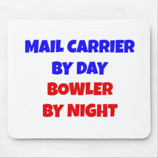 Mail Carrier by Day Bowler by Night Mouse Mat