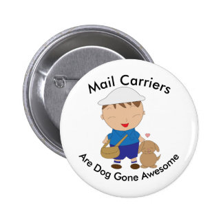 Mail Carrier Postal Worker Appreciation Custom 6 Cm Round Badge