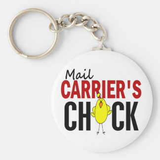 MAIL CARRIER'S CHICK KEY CHAIN