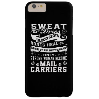 Mail Carrier Woman Barely There iPhone 6 Plus Case