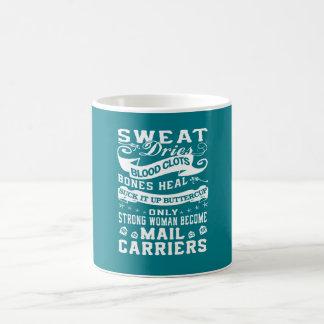 Mail Carrier Woman Coffee Mug
