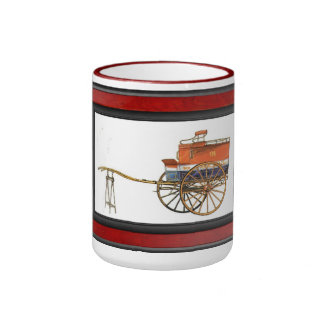 Mail Cart, USA Ringer Mug