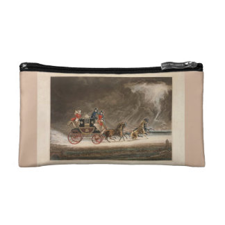 Mail Coach in a Storm, 1827. Makeup Bags
