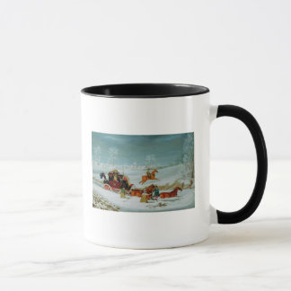 Mail Coach in the Snow Mug