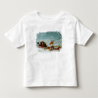 Mail Coach in the Snow Toddler T-Shirt