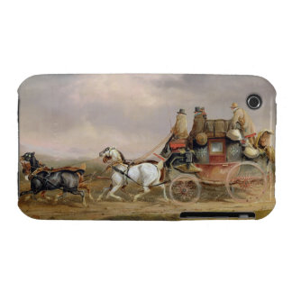 Mail Coaches on the Road: The Louth-London Royal M Case-Mate iPhone 3 Cases