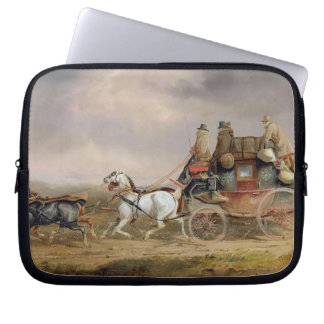 Mail Coaches on the Road: The Louth-London Royal M Laptop Sleeves