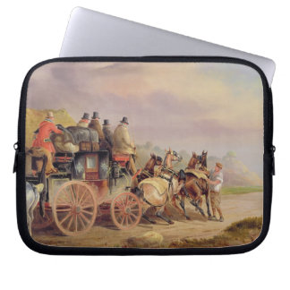 Mail Coaches on the Road: The 'Quicksilver' Devonp Laptop Sleeves