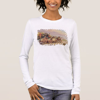 Mail Coaches on the Road: The 'Quicksilver' Devonp Long Sleeve T-Shirt