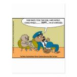 Mail Dog In Therapy Funny Offbeat Cartoon Gifts
