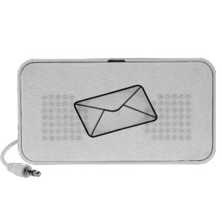 Mail Envelope Laptop Speaker