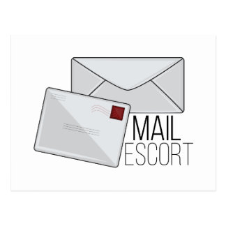 Mail Escort Postcard