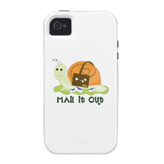 Mail It Out iPhone 4/4S Cover