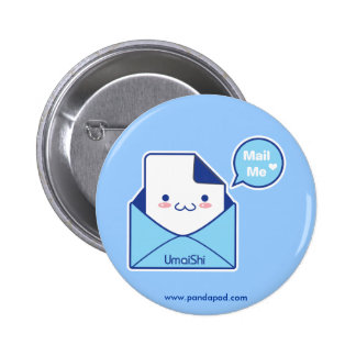 Mail Me 6 Cm Round Badge