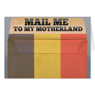 Mail me to Chad Note Card