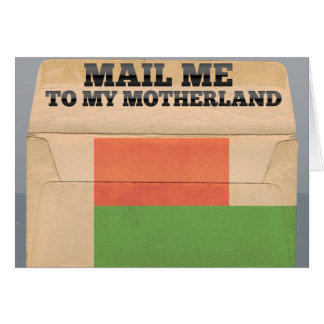 Mail me to Madagascar Note Card