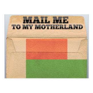 Mail me to Madagascar Postcard