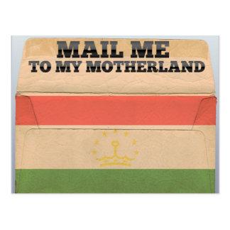 Mail me to Tajikistan Postcard