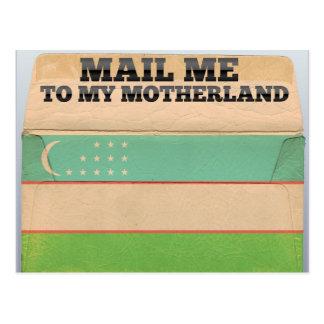 Mail me to Uzbekistan Postcard