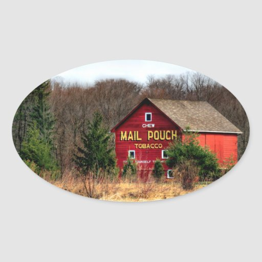 Mail Pouch Barn Sticker