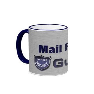 Mail Room Guard Ringer Mug