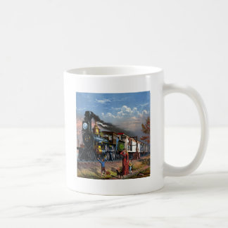MAIL TRAIN ~ BASIC WHITE MUG