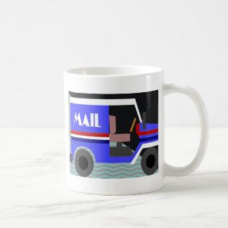 mail truck mug