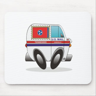 Mail Truck TENNESSEE Mouse Mat