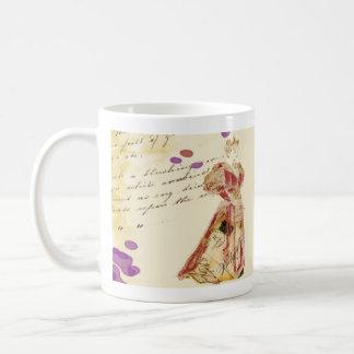 Mail Woman Mug, Is mr. darcy up yet Basic White Mug