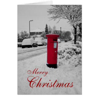 Mailbox Christmas Card